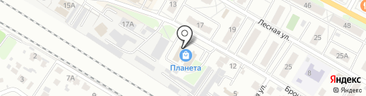 МЭТК-Регион на карте Раменского