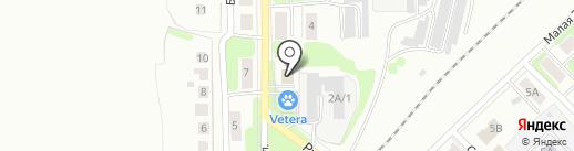 Государственный региональный центр стандартизации, метрологии и испытаний в Тульской области, ФБУ на карте Новомосковска