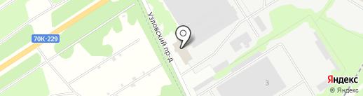 Тульская транспортная компания на карте Новомосковска