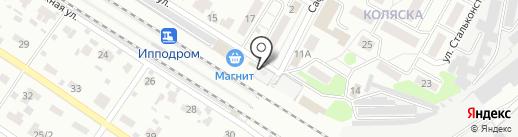 Магазин кондитерских изделий на карте Раменского