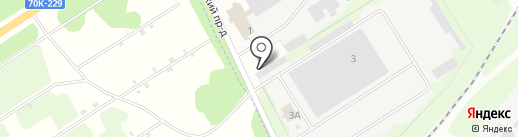 Центрэнергопоставка на карте Новомосковска