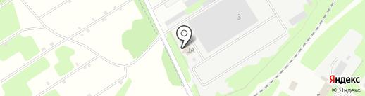 Подшипники-Новомосковск на карте Новомосковска