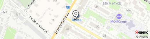 WorldOn на карте Раменского