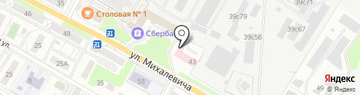 Банкомат, Московский кредитный банк, ПАО на карте Раменского