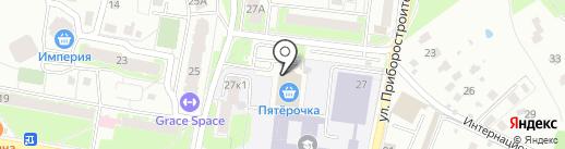 Магазин выпечки на карте Раменского