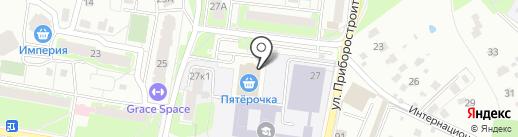 Егорьевская фабрика на карте Раменского