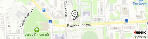 Магазин рыболовных принадлежностей на карте Новомосковска