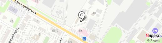 Магазин автозапчастей на карте Раменского