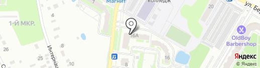 Мебельный салон на карте Раменского