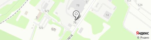 СоюзГидроКомплект на карте Новомосковска
