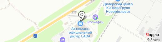 4 tochki на карте Новомосковска