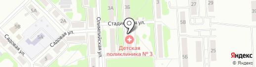 Филиал №1 кабинет врача-педиатра участкового на карте Новомосковска