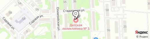 Стиль Лайн на карте Новомосковска