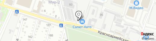 Салют-Авто на карте Раменского