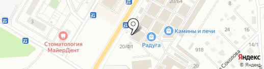 Те самые шкафы-купе на карте Раменского
