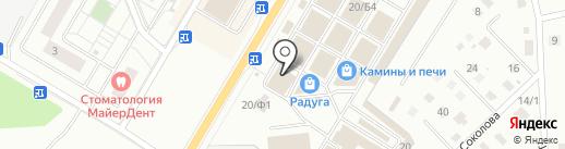 Аттик на карте Раменского