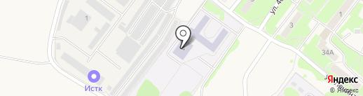 Средняя общеобразовательная школа №24 на карте Обухово