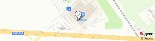 Пирамида на карте Новомосковска