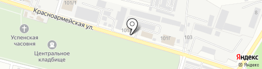 МИК ЯРУС на карте Раменского