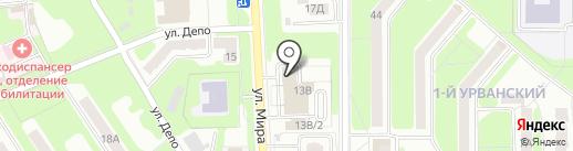 НовоМоторс на карте Новомосковска