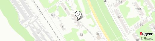 Стапель71 на карте Новомосковска