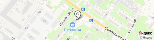 Пятерочка на карте Обухово