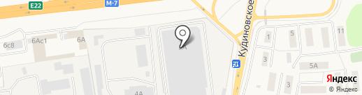 Меркурий на карте Обухово