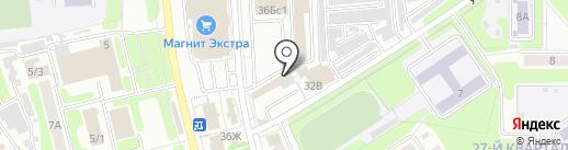 Магазин товаров для охоты на карте Новомосковска