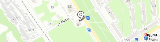 Автофильтр Плюс на карте Новомосковска
