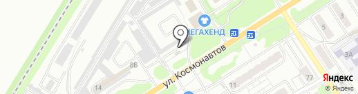 НОВОПРОФИЛЬ на карте Новомосковска