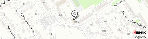Дуэт на карте Новомосковска