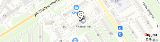 Три шоколада на карте Новомосковска