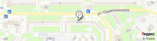 Амалия на карте Новомосковска