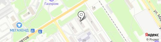 АКВА-ПЛЮС на карте Новомосковска