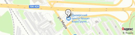 Апейрон-Н на карте Новомосковска