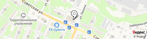 Дикси на карте Обухово