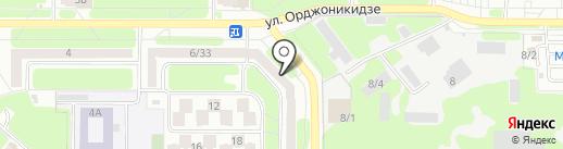 Экологическая Защита на карте Новомосковска