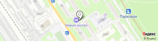 Виктория на карте Новомосковска