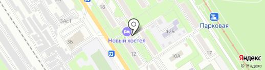 Курочка рядом на карте Новомосковска