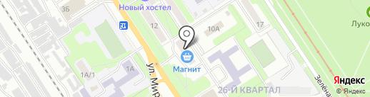 Удобная мебель на карте Новомосковска