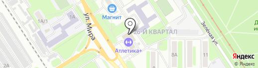 СпецСтройСервис на карте Новомосковска