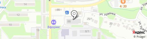 НИТИ на карте Новомосковска