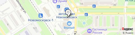 Шашлычная на карте Новомосковска