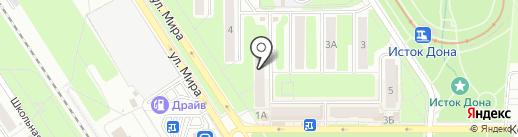 ХозМаркет на карте Новомосковска