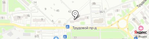 London на карте Новомосковска