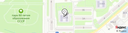 Детский сад №23 на карте Новомосковска