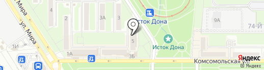 Полцены на карте Новомосковска