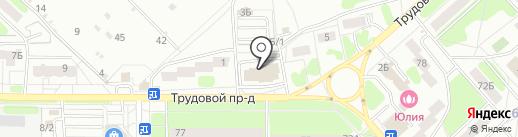 Цвет диванов на карте Новомосковска