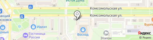 Мегафон на карте Новомосковска