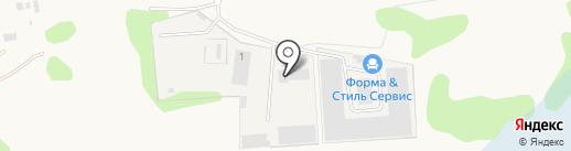 ПаллетСити на карте Обухово